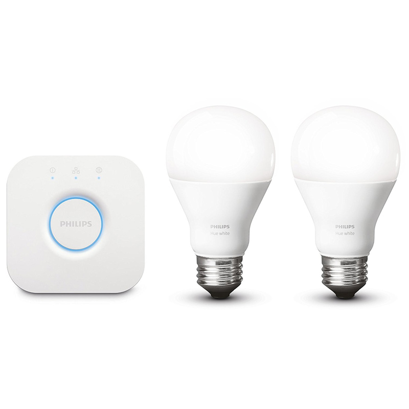 philips hue white led lampe 9 5 w eek a a60 e27 starter set eur 84 95 picclick de. Black Bedroom Furniture Sets. Home Design Ideas