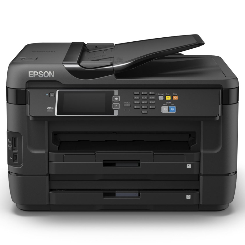 epson workforce pro wf 7620dtwf din a3 drucker kopierer scanner fax wi fi ebay. Black Bedroom Furniture Sets. Home Design Ideas