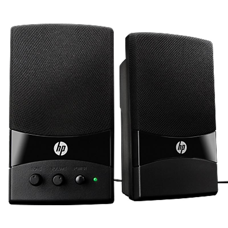 hp gl313aa multimedia lautsprecher mit usb anschluss pc boxen ebay. Black Bedroom Furniture Sets. Home Design Ideas