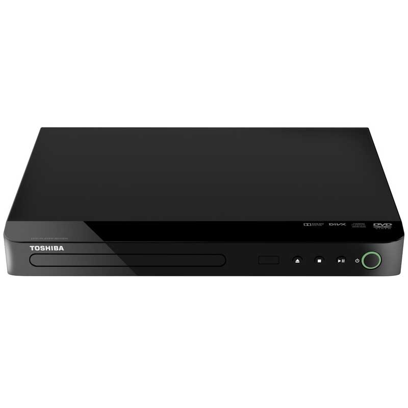 toshiba sd1020ke dvd player compact line schwarz scart divx mp3 ebay. Black Bedroom Furniture Sets. Home Design Ideas