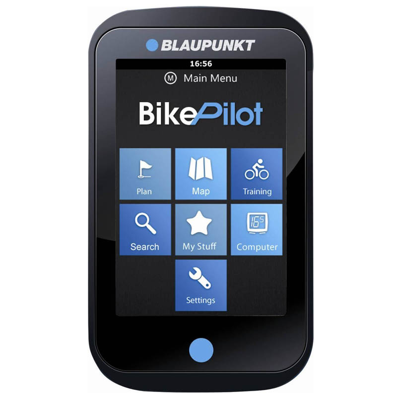 blaupunkt bikepilot fahrrad navigationssystem 3 5 zoll. Black Bedroom Furniture Sets. Home Design Ideas