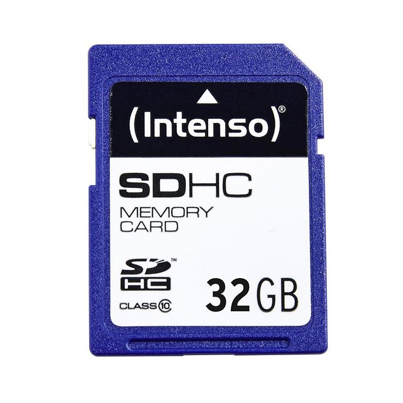 nuevo! Intenso SDHC card 32 gigabyte class 10 tarjeta de memoria martillo