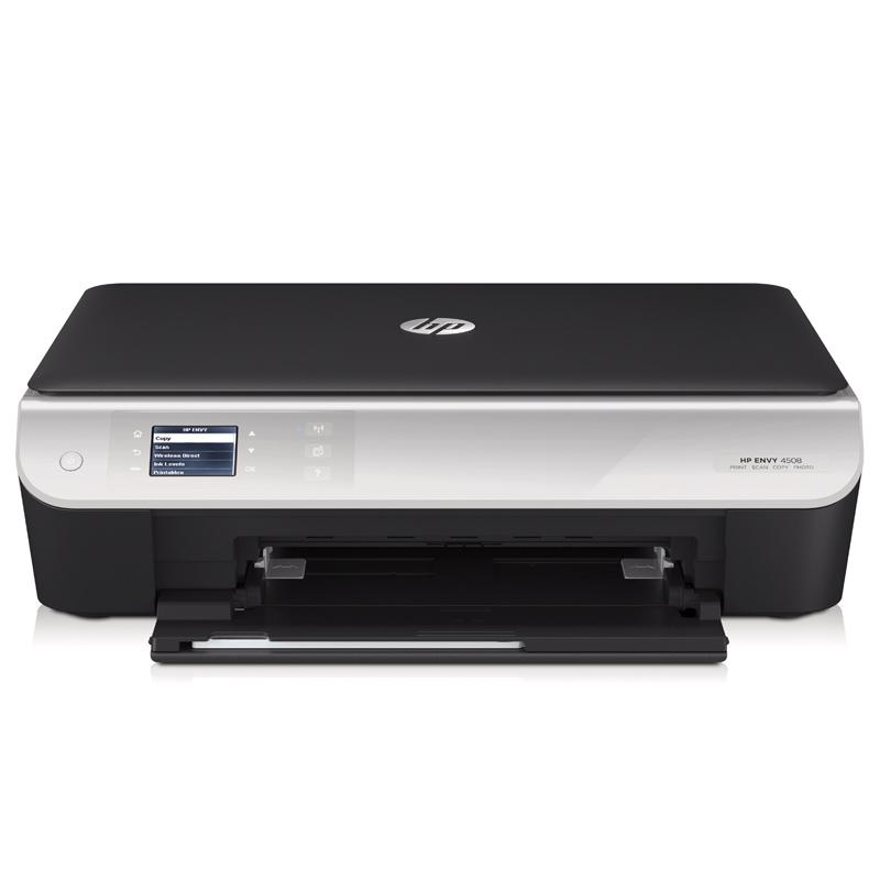 hp envy 4508 e all in one multifunktionsdrucker drucker scanner kopierer wlan ebay. Black Bedroom Furniture Sets. Home Design Ideas