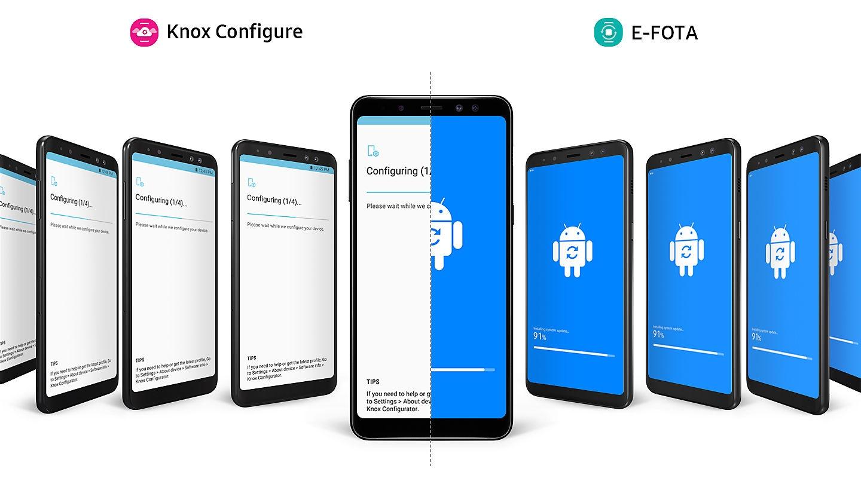 Samsung Galaxy A8 Enterprise Edition Dual Sim Smartphone Schwarz