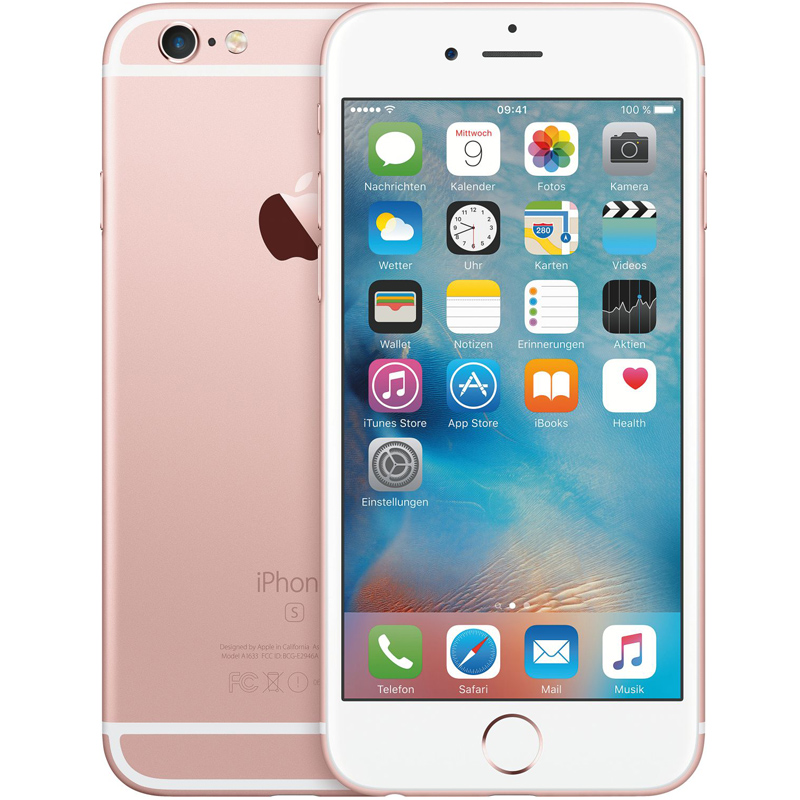 apple iphone 6 s 64gb rosegold 5 5 zoll smartphone 12mp. Black Bedroom Furniture Sets. Home Design Ideas