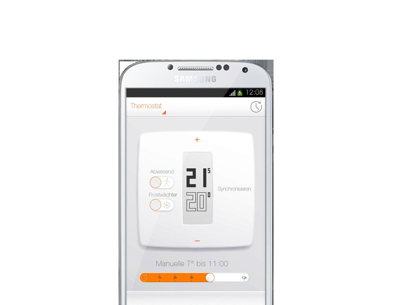 Netatmo NTH01 Thermostat mit App für Smartphone Ausstellungsgerät
