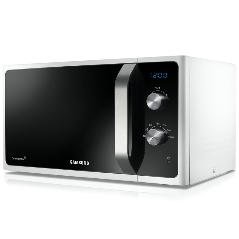 samsung ms23f301eaw eg mikrowelle 800 watt 23l neu ebay. Black Bedroom Furniture Sets. Home Design Ideas