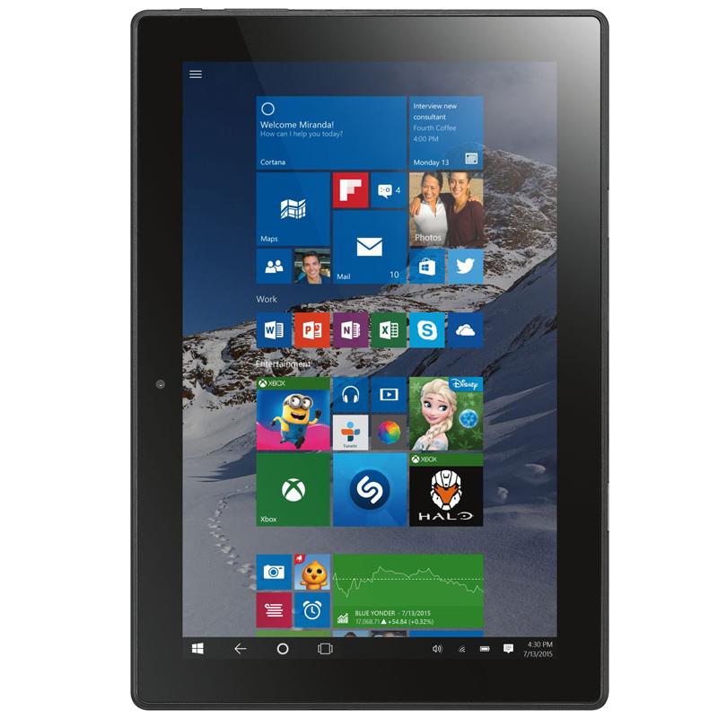 lenovo miix 310 tablet pc 10 1 zoll 2gb 32gb intel atom x5. Black Bedroom Furniture Sets. Home Design Ideas