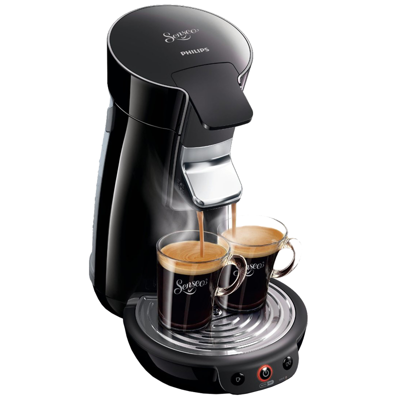 philips hd7825 60op1 senseo kaffee pad automat schwarz viva cafe maschine ebay. Black Bedroom Furniture Sets. Home Design Ideas