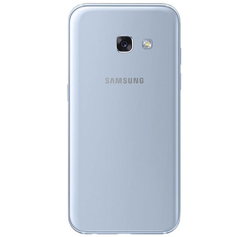 samsung galaxy a3 2017 handy blau 4 7 zoll 16gb ip68 android 6 0 ebay. Black Bedroom Furniture Sets. Home Design Ideas