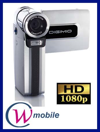 Aiptek Digimio t6 numérique HD Caméscope 12 mégapixels