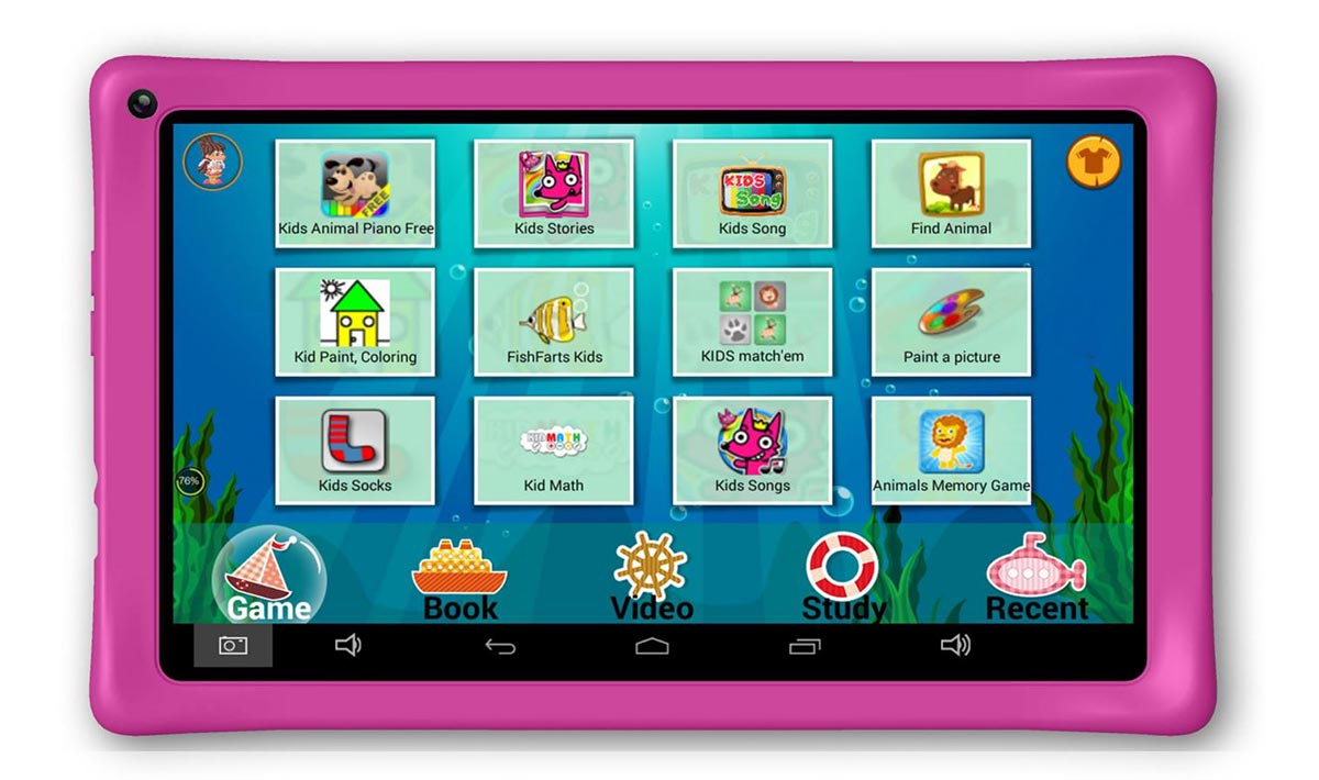 axxo kids tablet 10 zoll display pink wlan. Black Bedroom Furniture Sets. Home Design Ideas