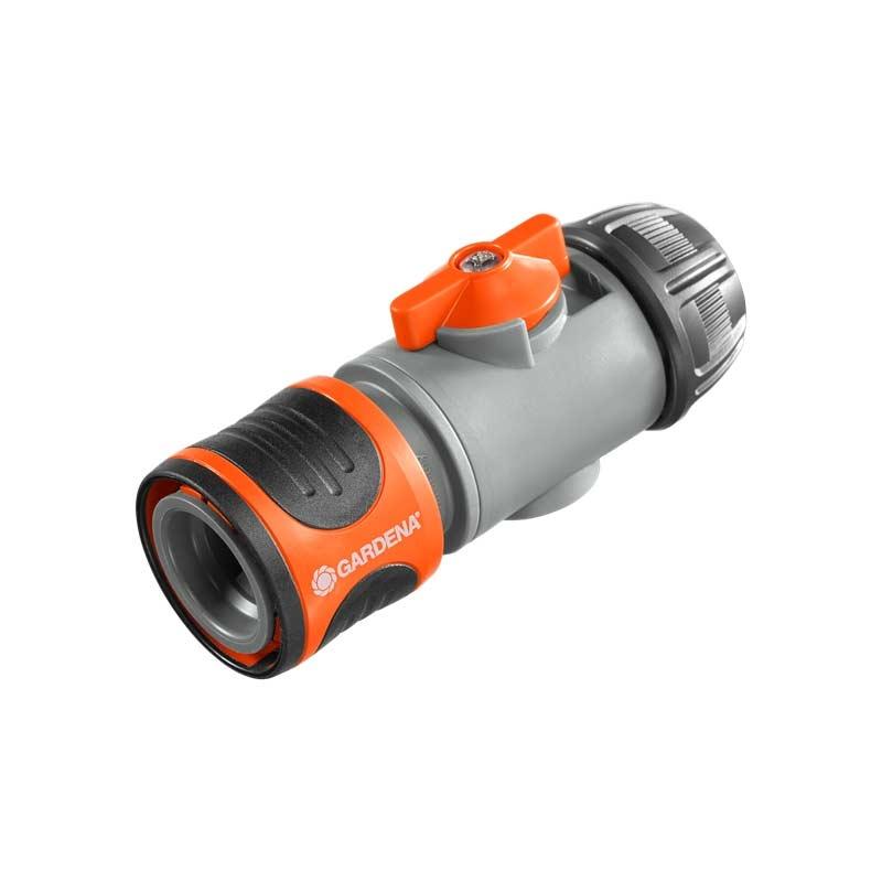 """- 15 mm 1//2/"""" : Adapter für 5//8/"""" GARDENA Premium Schlauchverbinder 13 mm"""