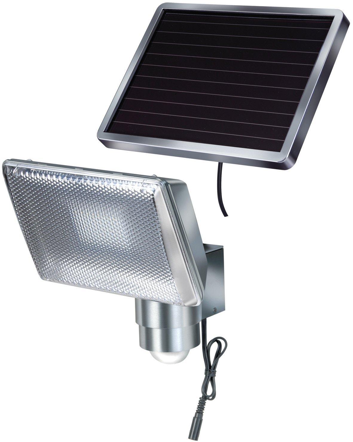 brennenstuhl sol 80 alu ip44 solar led strahler infrarot. Black Bedroom Furniture Sets. Home Design Ideas