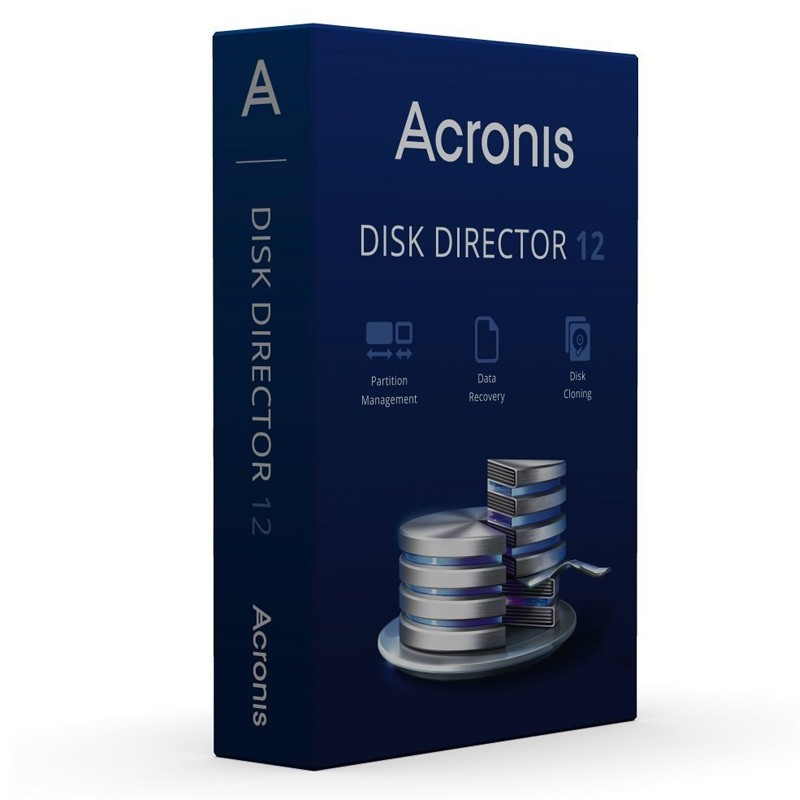 Acronis Disk Director 12.0 dt. CD Mini Box