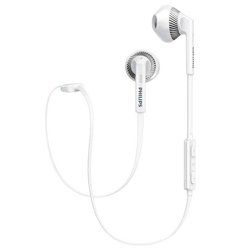 philips shb5250wt in ear bluetooth kopfh rer mit mikrofon wei. Black Bedroom Furniture Sets. Home Design Ideas