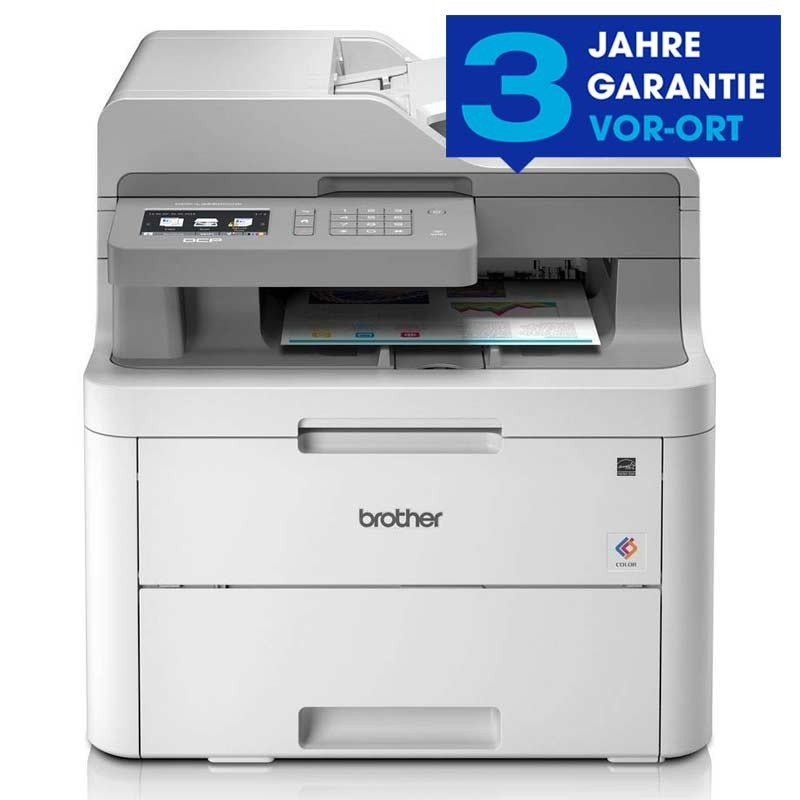 Brother DCP-L3550CDW 3-in-1 LED-Multifunktionsdrucker