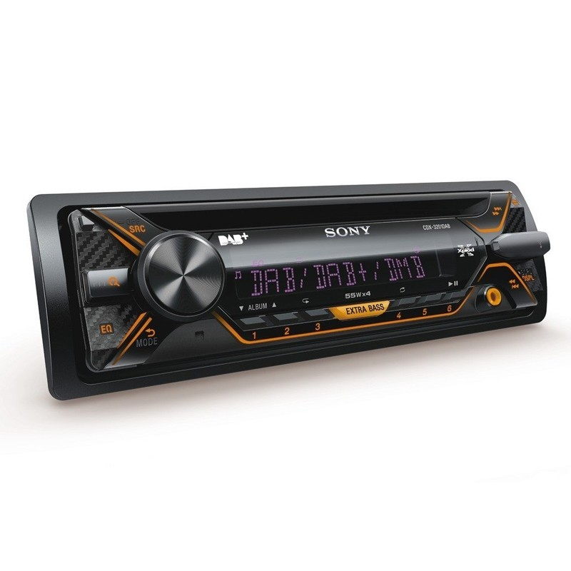 sony cdx 3201dab autoradio. Black Bedroom Furniture Sets. Home Design Ideas