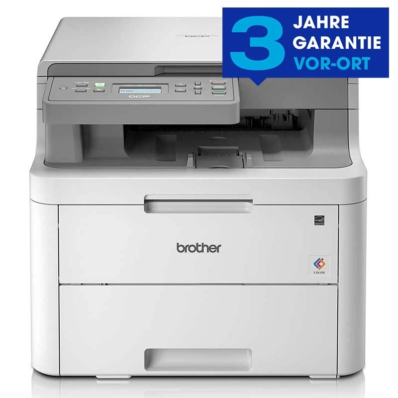 Brother DCP-L3510CDW 3-in-1 Farb-LED-Multifunktionsdrucker