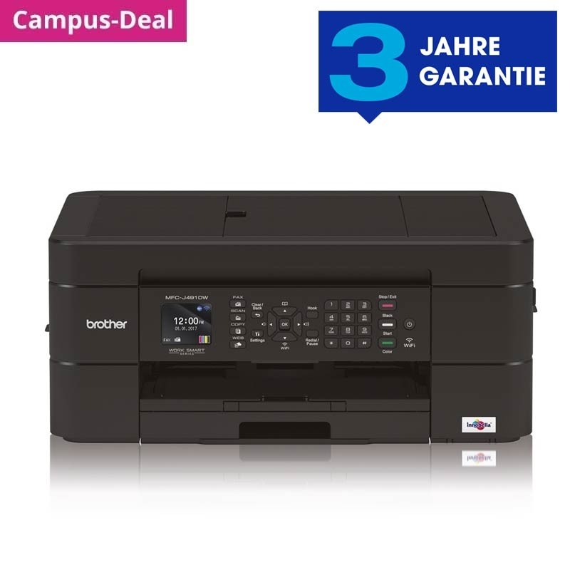 Brother MFC-J491DW 4-in-1 Tinten-Multifunktionsgerät
