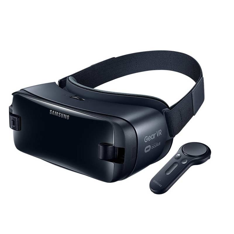 Samsung Gear VR (SM-R325) mit Controller, Orchid Gray