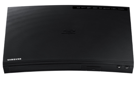 Samsung BD-J5900/EN Blu-ray Disc Player Curved Design
