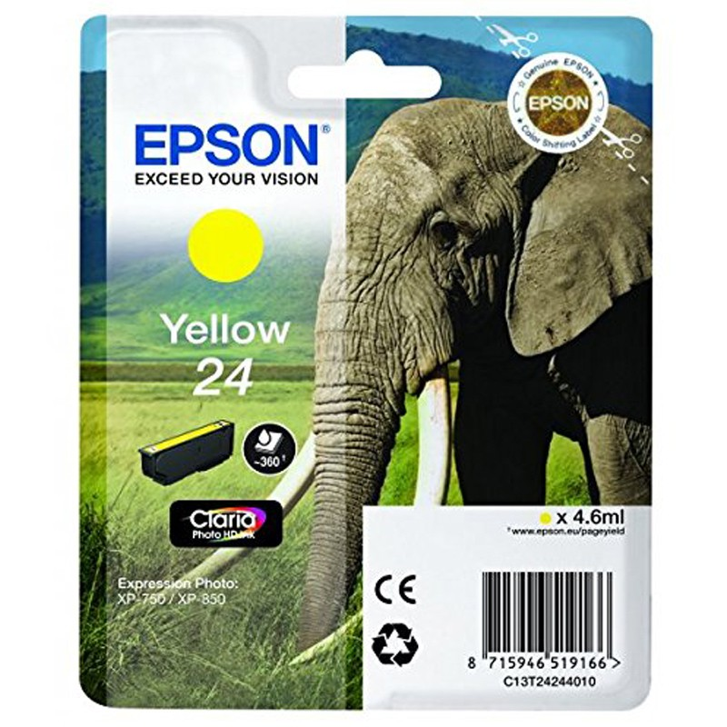 Epson 24 Tinte yellow