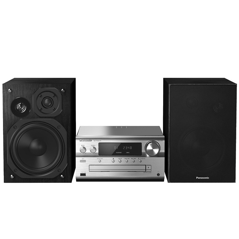 Panasonic SC-PMX74 Micro-Stereo-System Silber