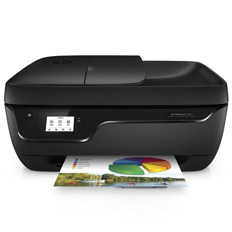 HP OfficeJet 3834e Multifunktionsdrucker