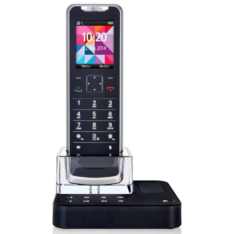 Motorola IT.6.1TC Design-DECT Telefon schwarz