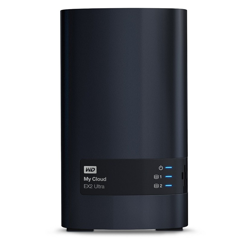 Western Digital My Cloud EX2 Ultra NAS 2-bay 16TB