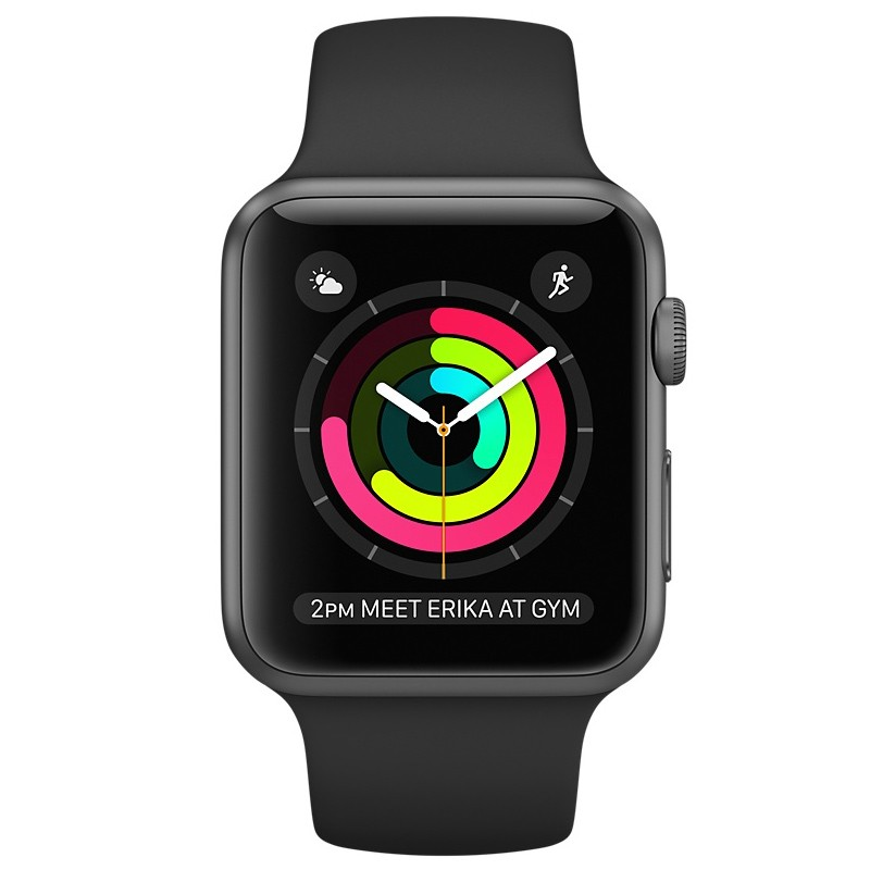 Apple Watch Series 1 42mm spacegrau Ausstellungsgerät