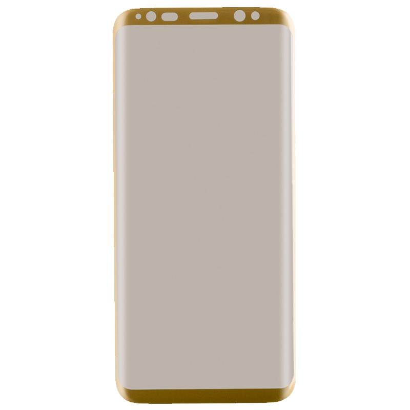 Peter Jäckel Full Display HD Glass Superb Plus für Galaxy S8 Gold