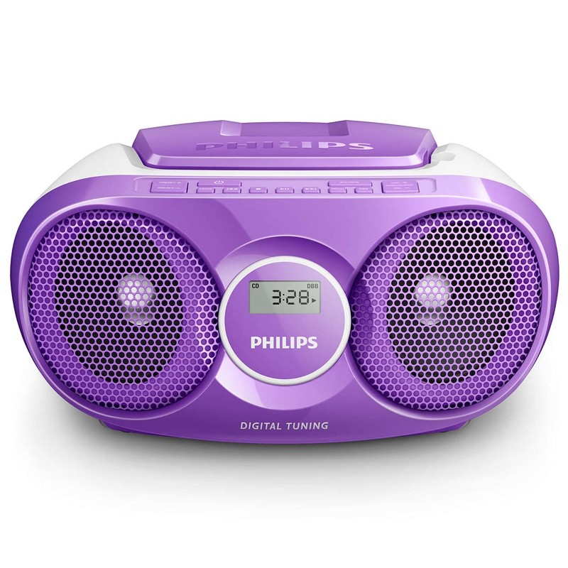 Philips AZ215V/12 CD-Radio violet
