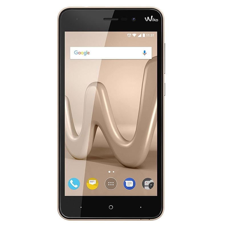 Wiko Lenny 4 16GB Dual-SIM Smartphone gold 2. Wahl Qualitätsprodukt