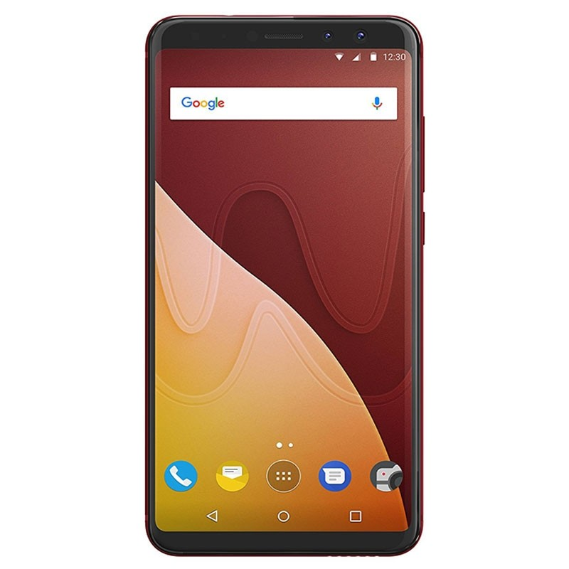 wiko view prime 64gb dual sim smartphone kirschrot. Black Bedroom Furniture Sets. Home Design Ideas