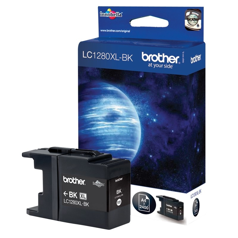 Brother LC1280XLBK Tinte schwarz