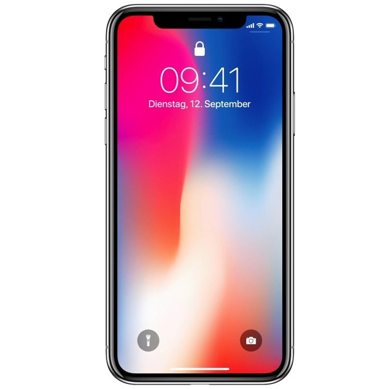 Apple iPhone X 256GB Silber Smartphone