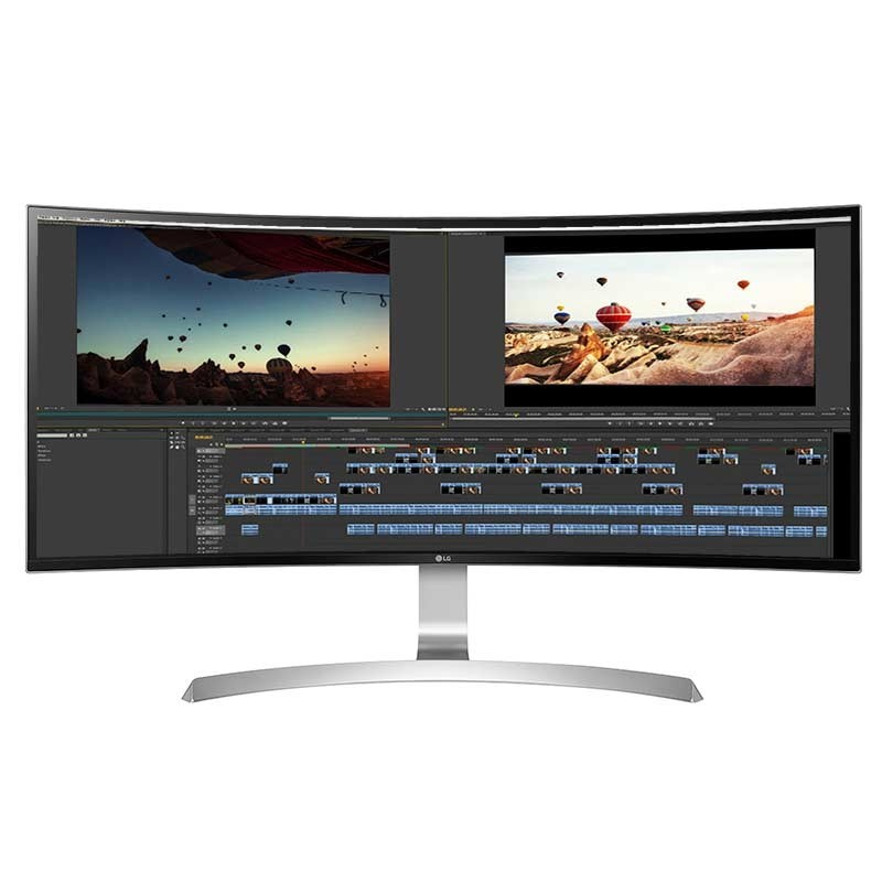 LG 34UC99-W 86,4 cm (34 Zoll) Curved-LED-Monitor