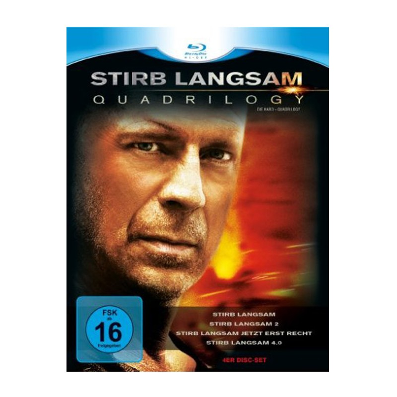 Stirb Langsam 1-4 Box Blu-Ray