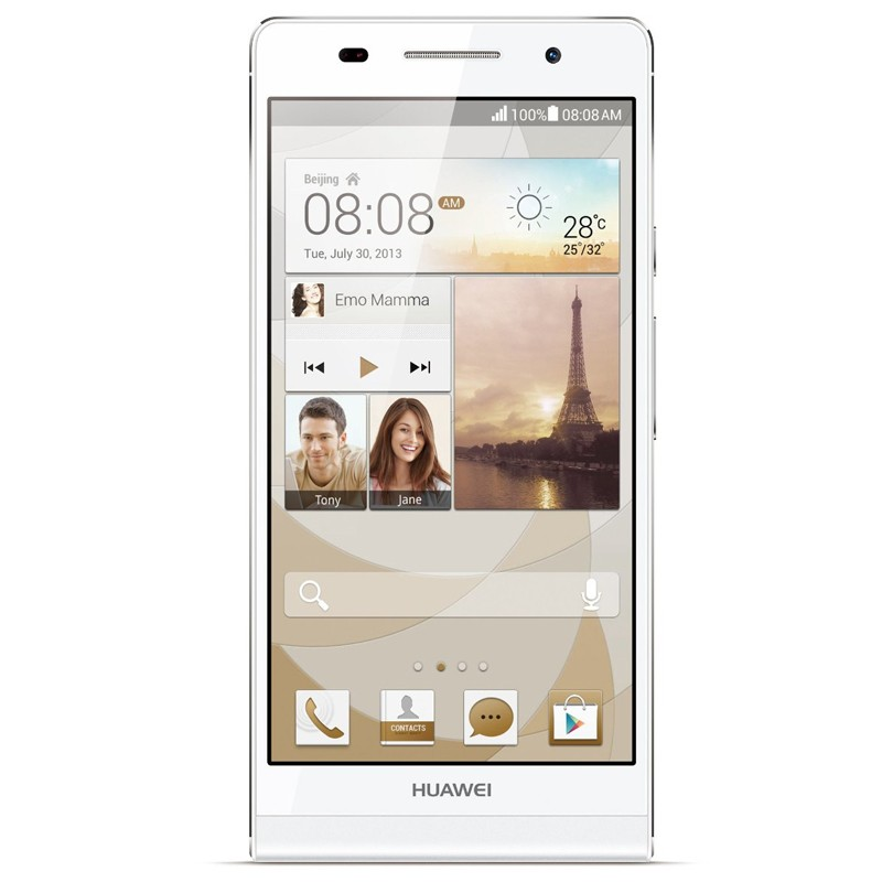 Huawei Ascend P6 white Handy