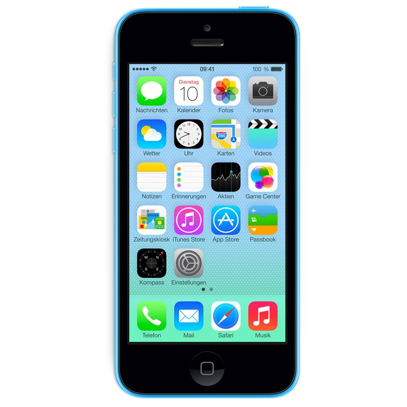 Apple iPhone 5C 16GB blau Handy