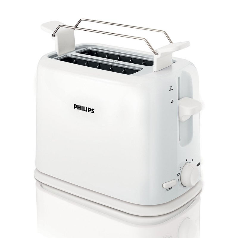 Philips HD 2567/00 Toaster Weiss