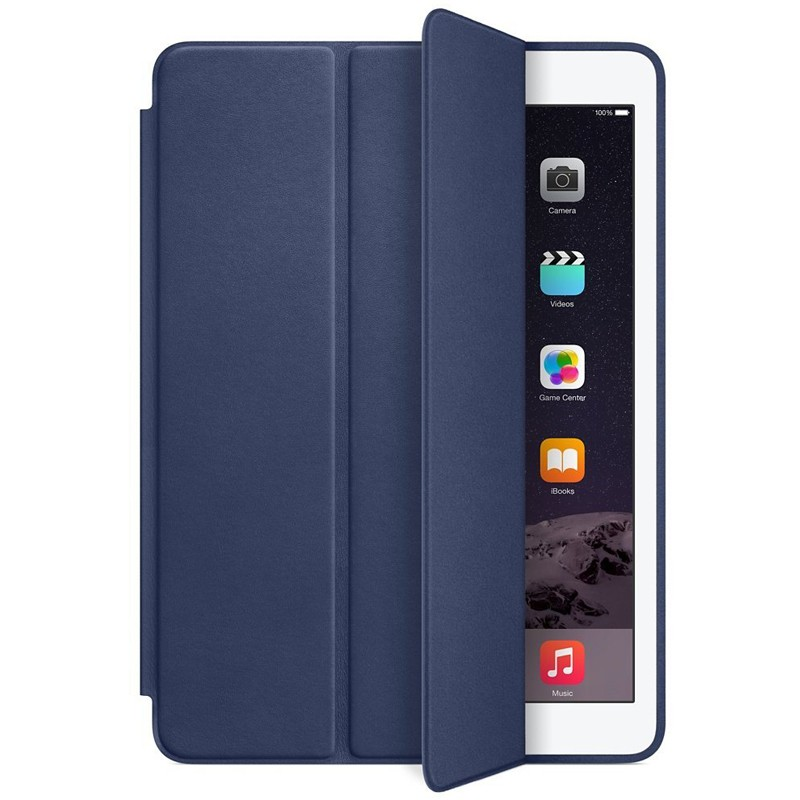 Apple iPad Air 2 Smart Case Leder blau