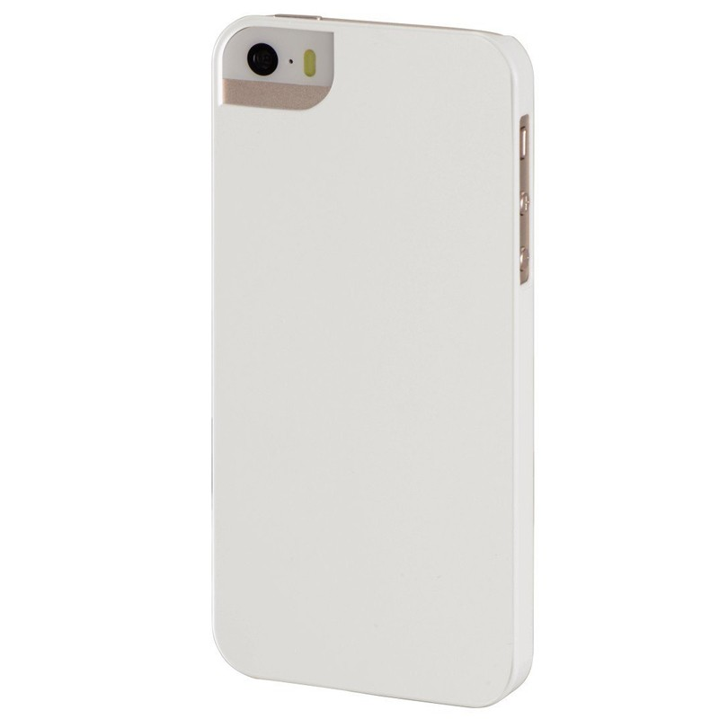 Hama Cover Rubber für iPhone 5 Weiß