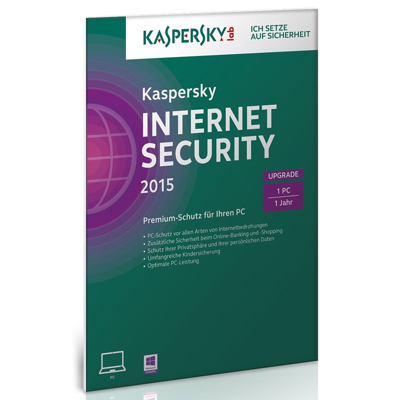 Kaspersky Internet Security 2015 1 User Upgrade