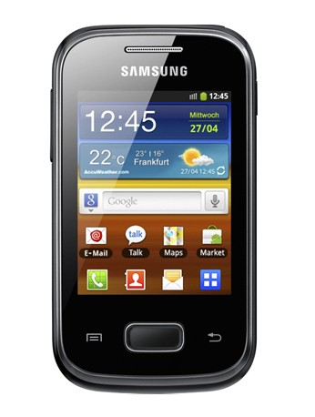 Samsung S5300 Galaxy Pocket black Handy