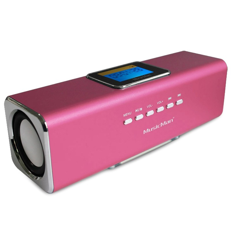 Technaxx MusicMan MA displaySoundstation pink