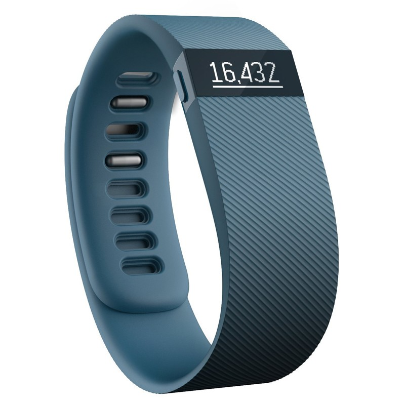 Fitbit Charge Aktivitäts- und Schlaf-Tracker small slate