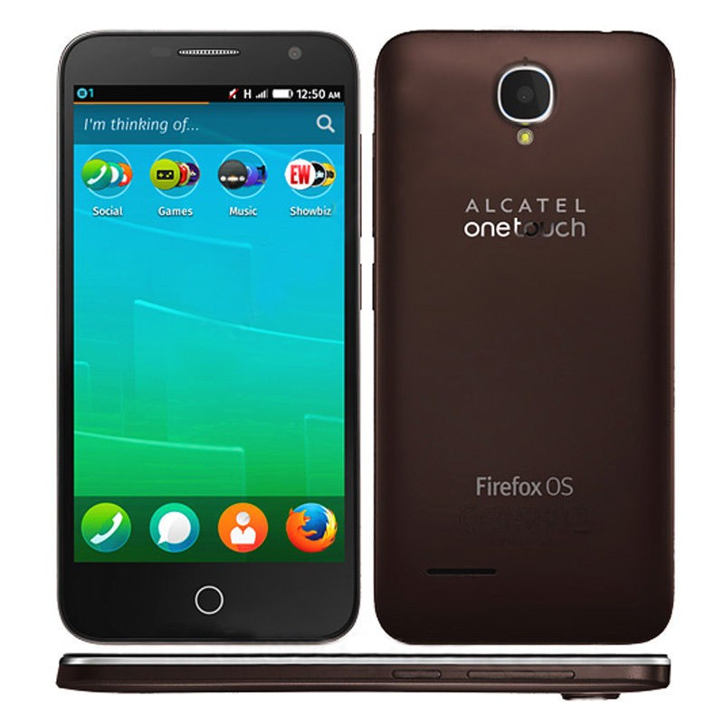Alcatel One Touch 6015X Fire E chocolate Handy